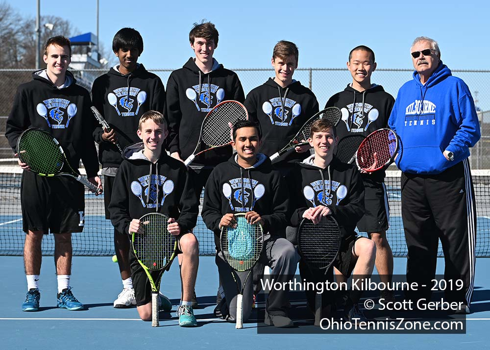Worthington Kilbourne Tennis Team