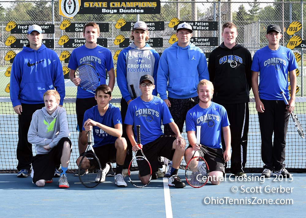 Central Crossing Tennis Team