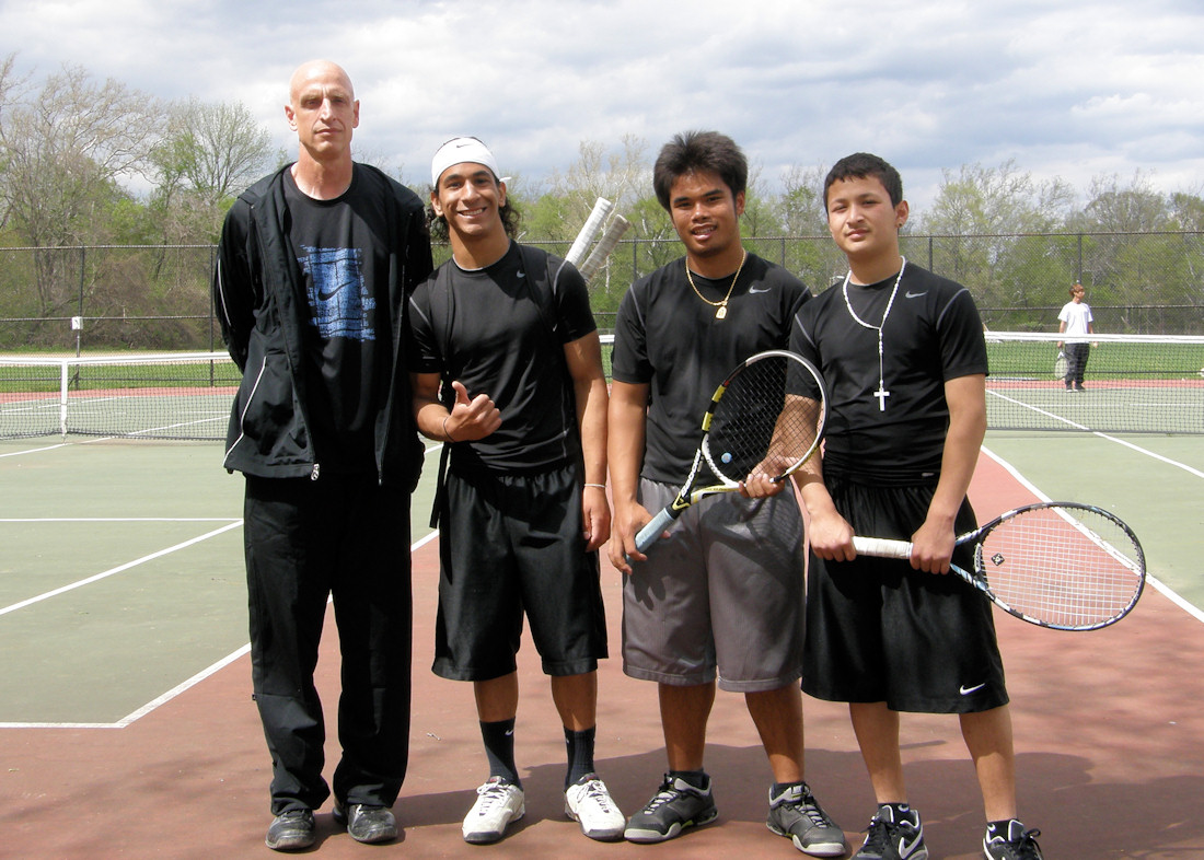 West Tennis Team