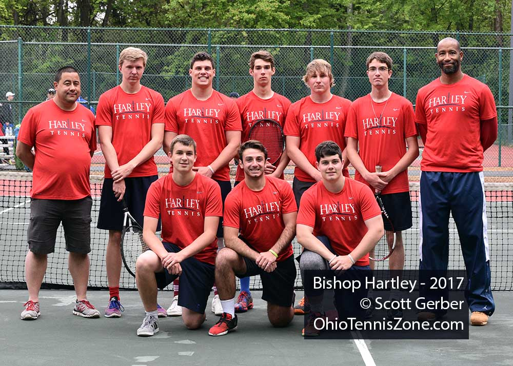 Bishop Hartley Tennis Team