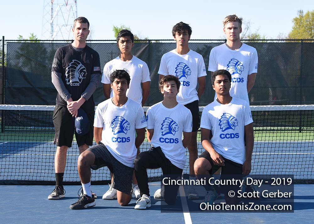 Cincinnati Country Day Tennis Team
