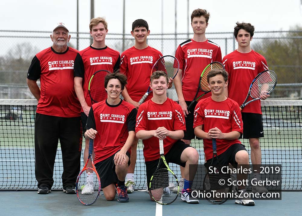 St. Charles Tennis Team