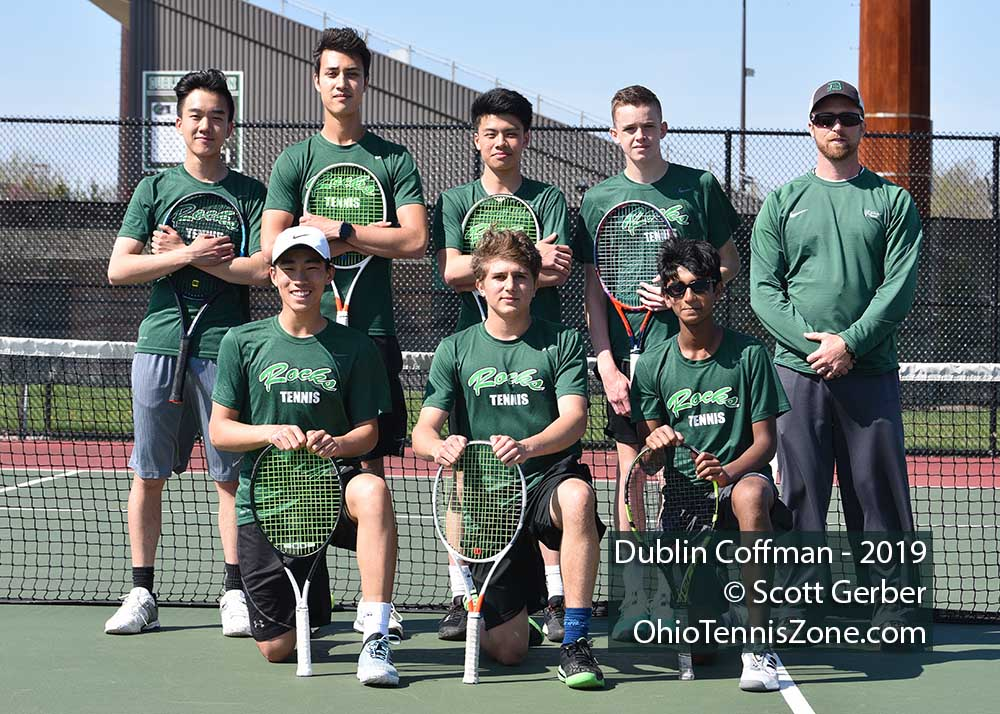 Dublin Coffman Tennis Team