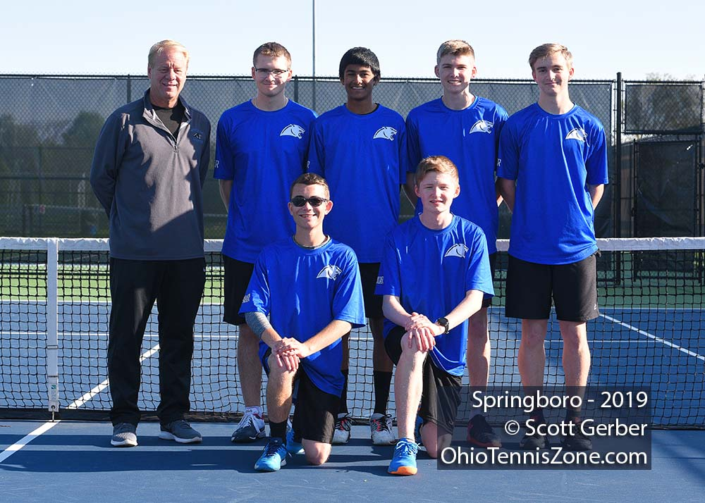 Springboro Tennis Team