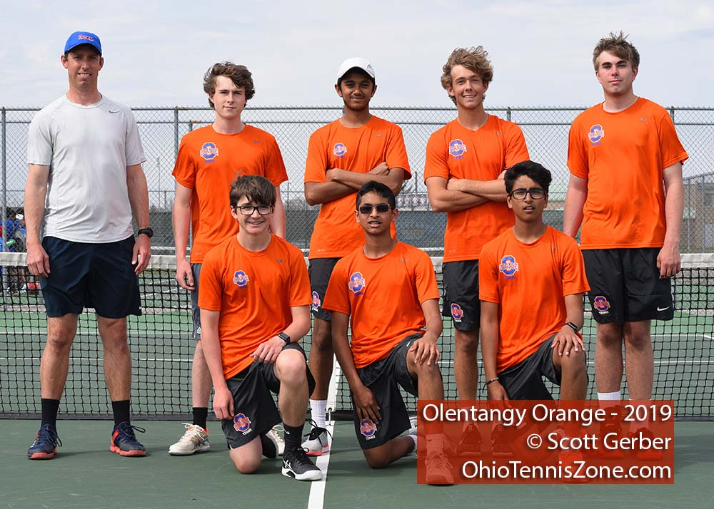 Olentangy Orange Tennis Team