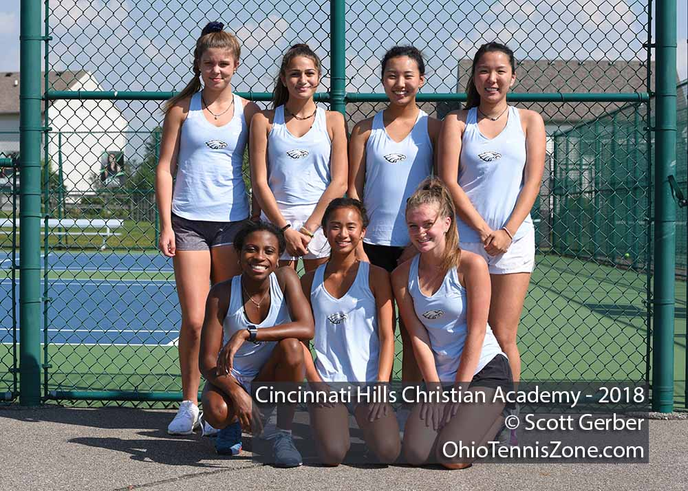 Cincinnati Hills Christian Academy Tennis Team