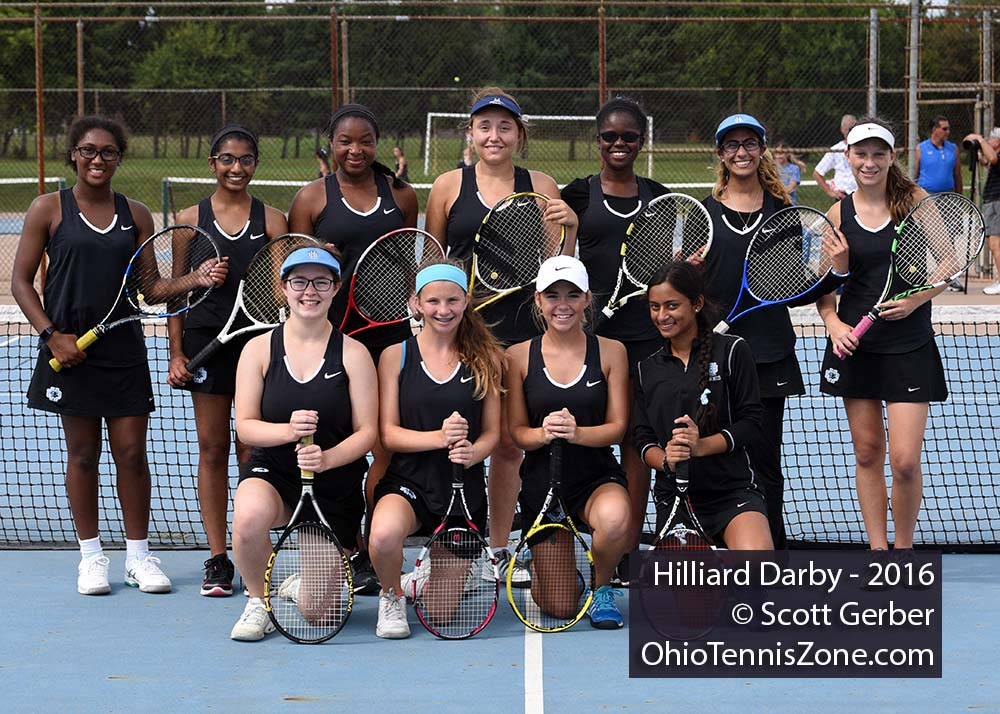 Hilliard Darby Tennis Team