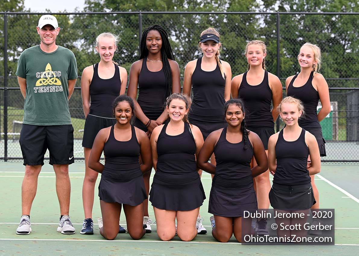 Dublin Jerome Tennis Team