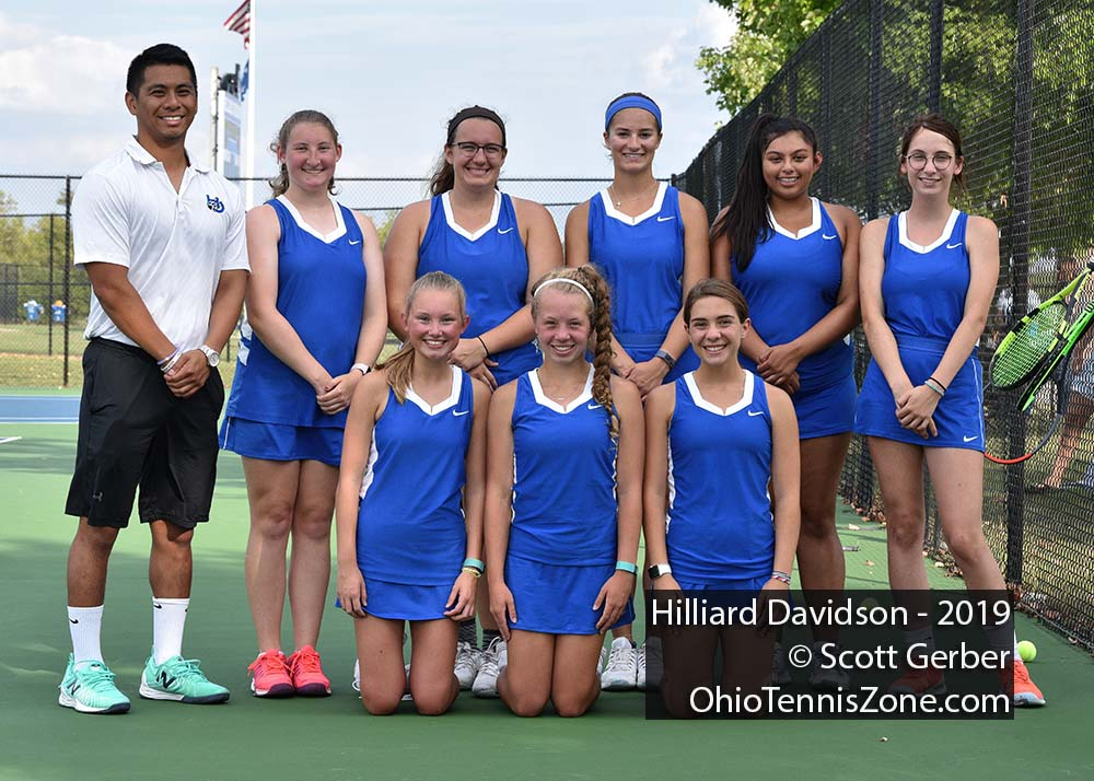 Hilliard Davidson Tennis Team