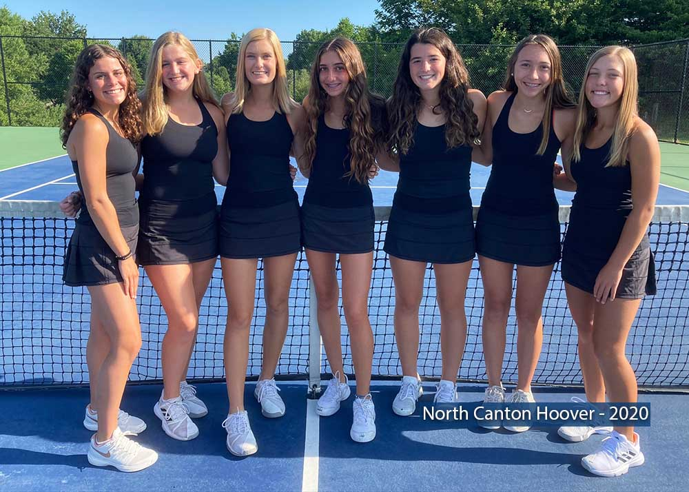 North Canton Hoover Tennis Team
