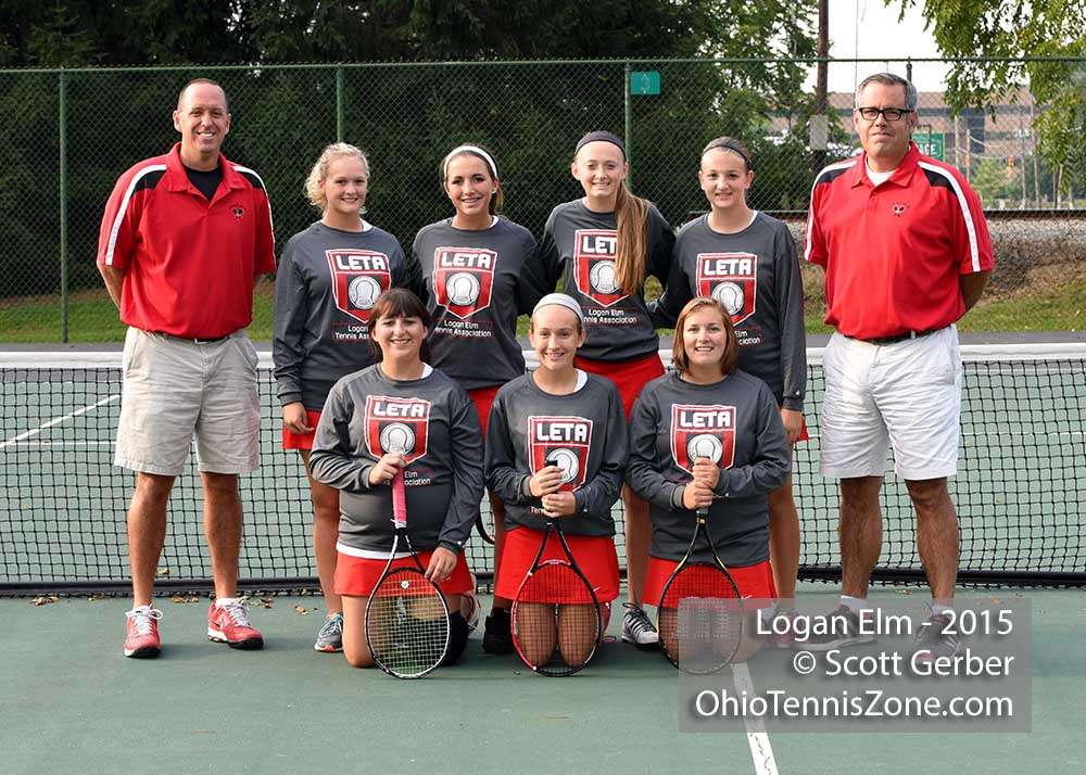 Logan Elm Tennis Team