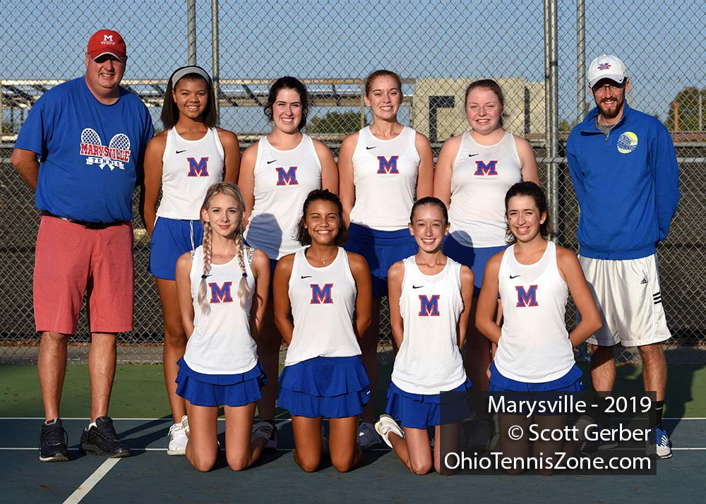 Marysville Tennis Team