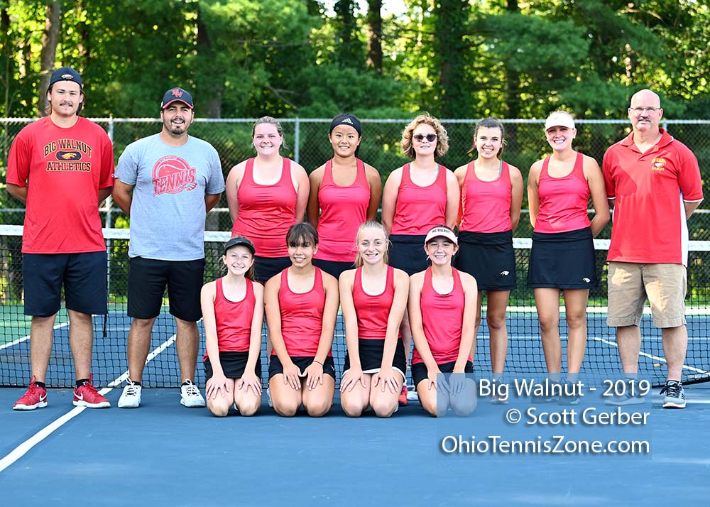 Big Walnut Tennis Team