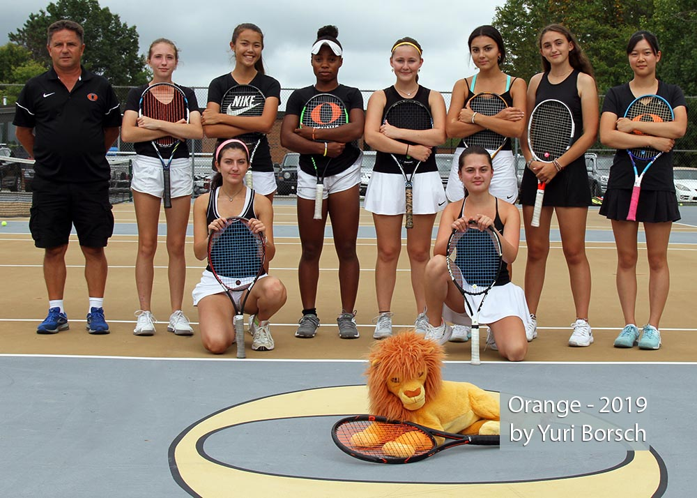 Orange Tennis Team