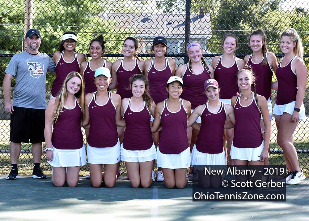 New Albany Tennis Team