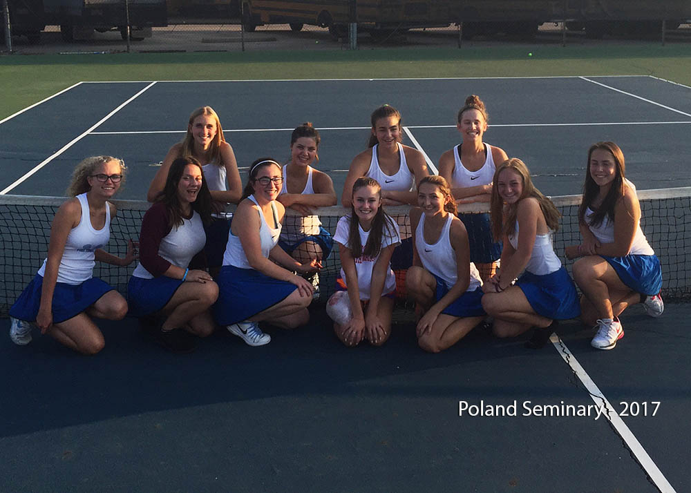 Poland Seminary Tennis Team