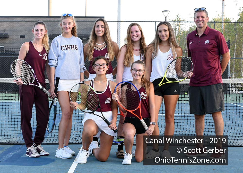 Canal Winchester Tennis Team