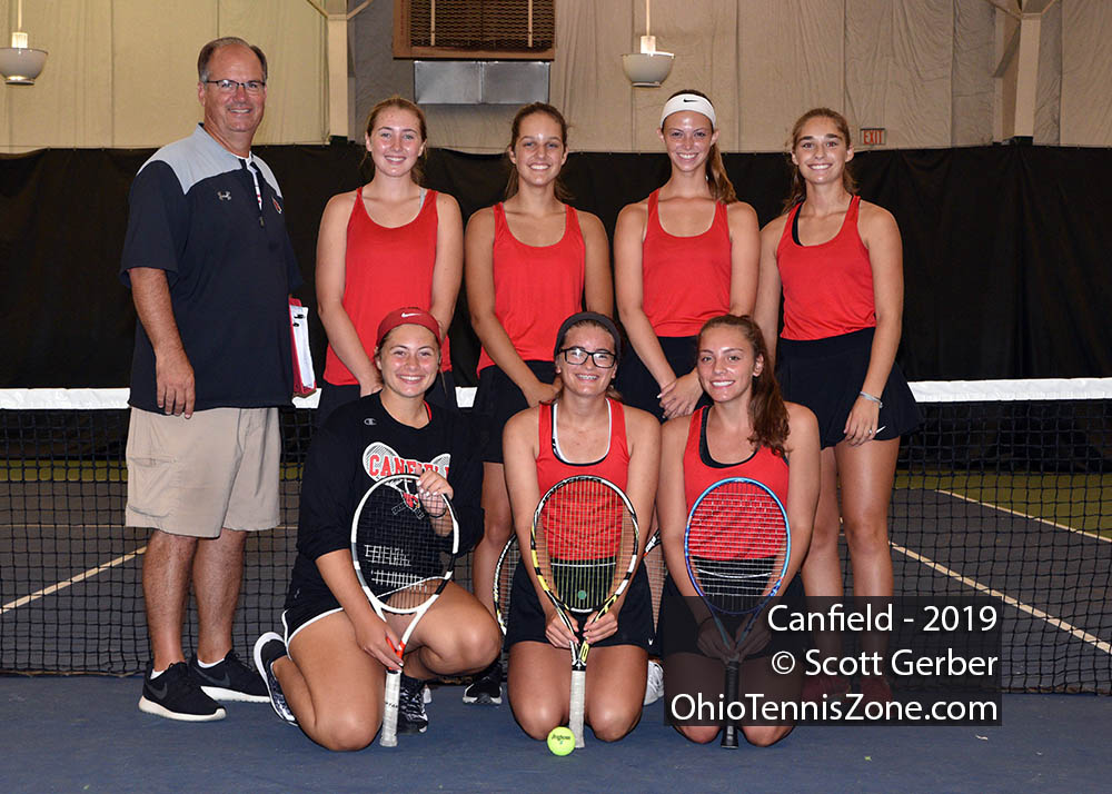 Canfield Tennis Team