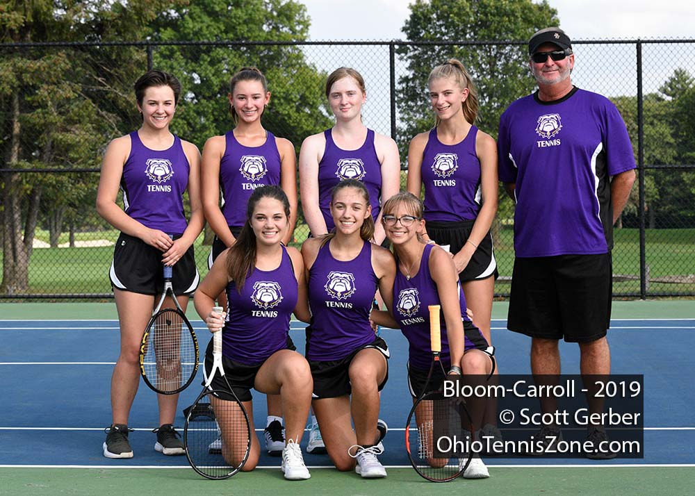 Bloom-Carroll Tennis Team