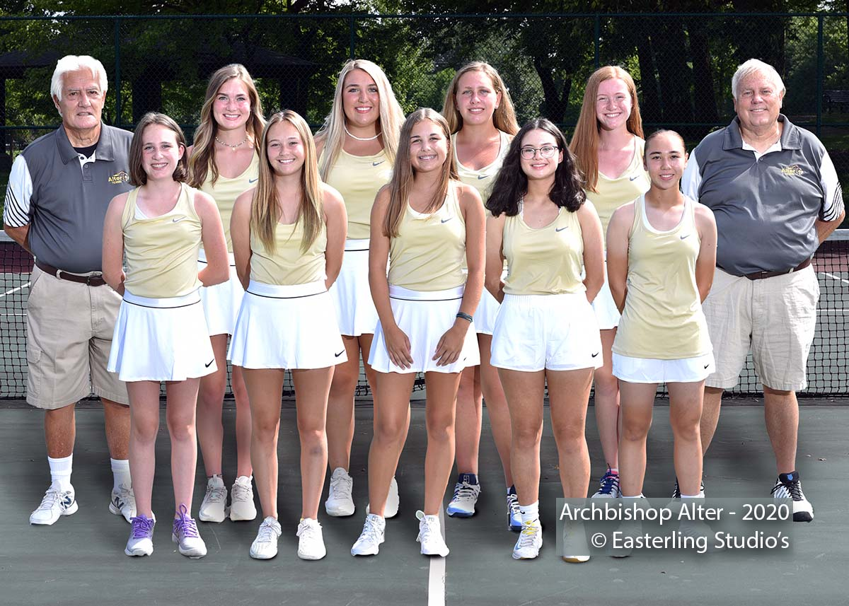 Archbishop Alter Tennis Team