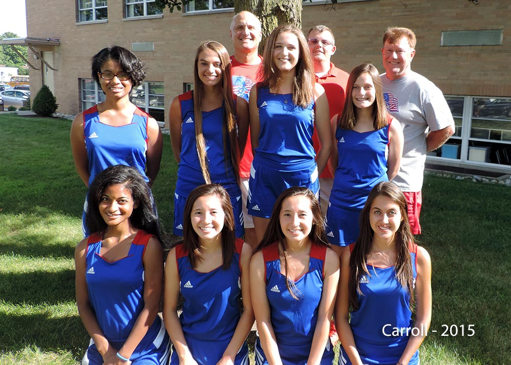 Carroll Tennis Team