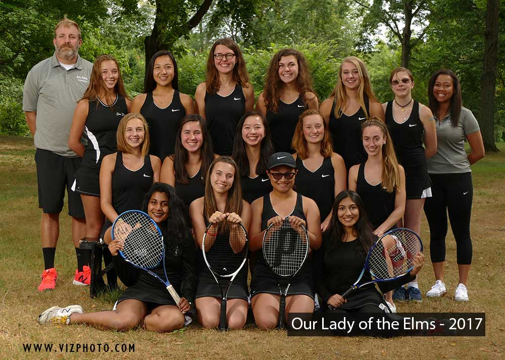 Our Lady of the Elms Tennis Team