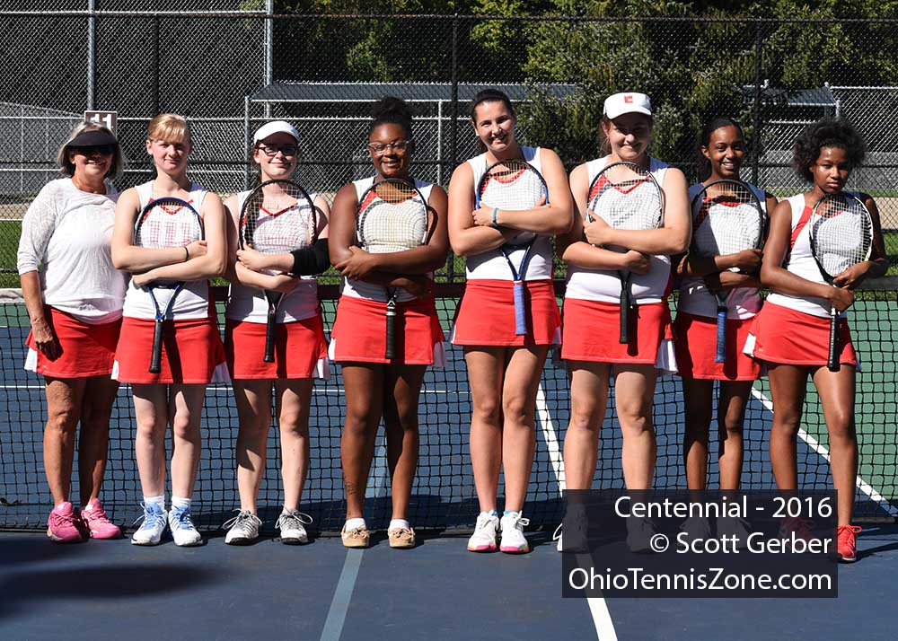 Centennial Tennis Team