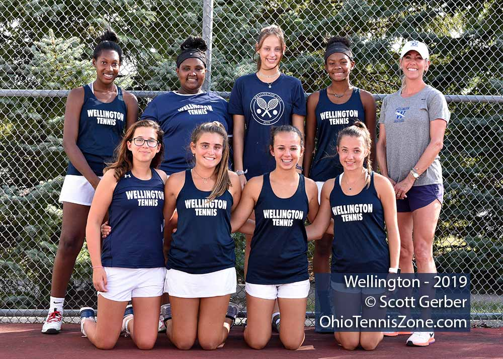 Wellington Tennis Team