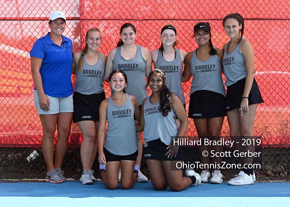 Hilliard Bradley Tennis Team