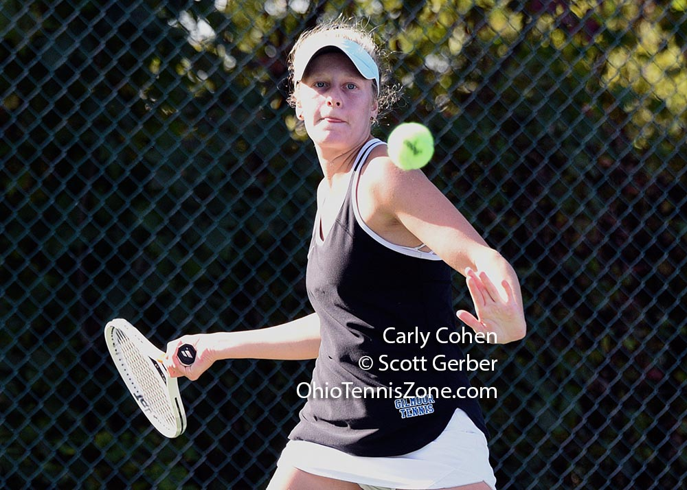 Gilmour Academy's Carly Cohen